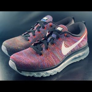 NEW Nike Air Max Flyknit Multicolor Running Shoes